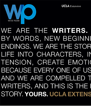 "ucla writing program In the ucla ""writing"" program the child is taught to communicate using letters  and words rather than, for example, vocal language or sign language."
