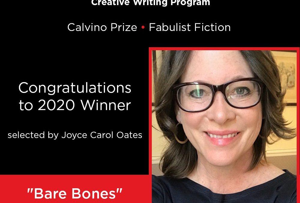 Success: Leanne Ogasawara Wins Calvino Prize