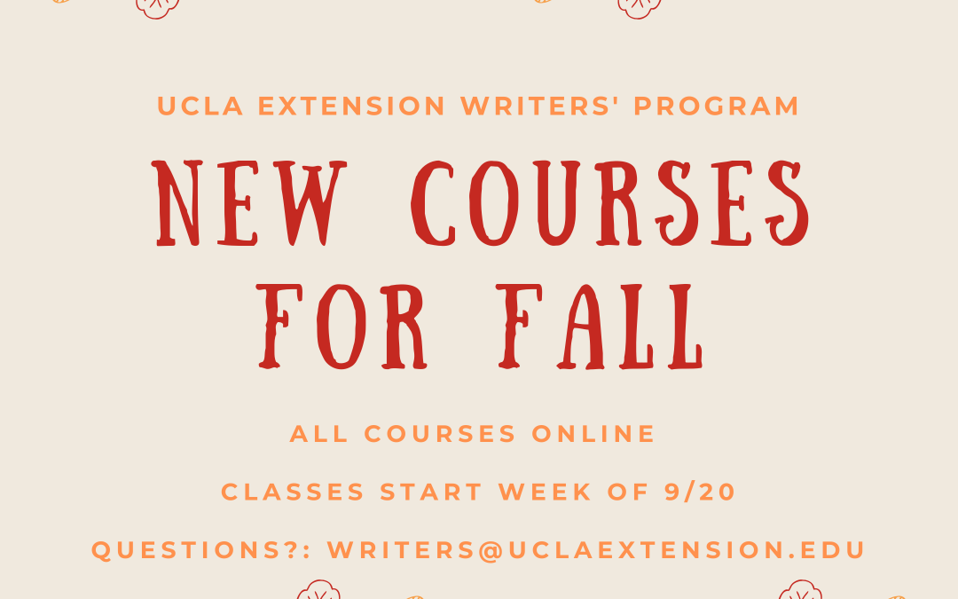 NEW Courses for Fall 2021